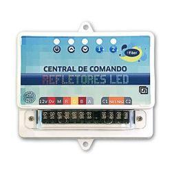 Central de comando SMD/RGB Basica Ritmica com controle Remoto 6A - Fiber