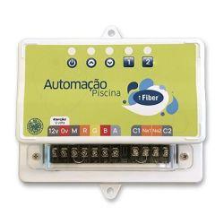 Central de comando SMD Smart Ritmica com controle por celular 2 Saidas aux. Timer  6A - Fiber