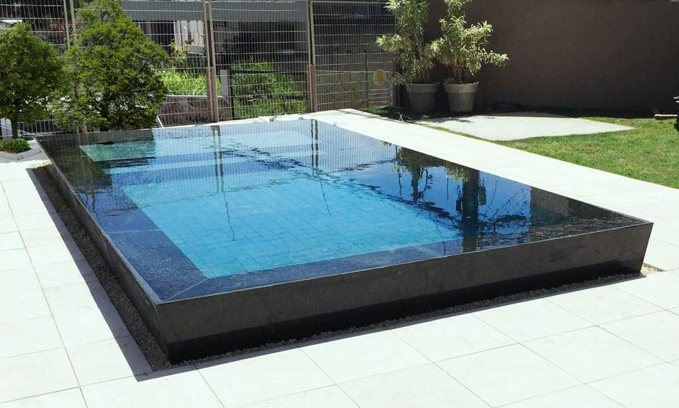 Piscina de concreto fiber for Precio de piscinas de cemento